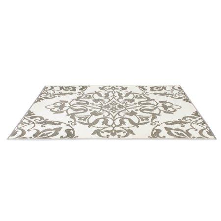 eLuxurySupply - Reversible Indoor/Outdoor Mat   Fade-Resistant UV Protectors   Weather-Proof for $<!---->