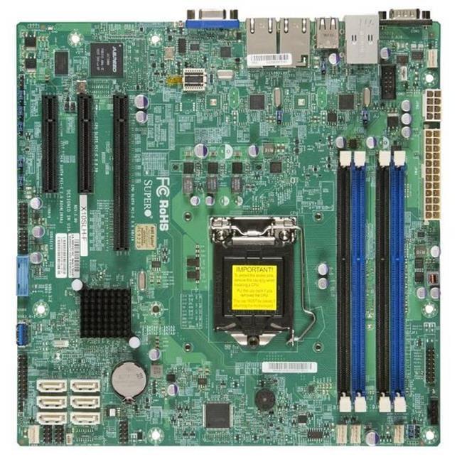 Super Micro X10SLH-F-B LGA1150 Intel C226 PCH DDR3 SATA3 ...
