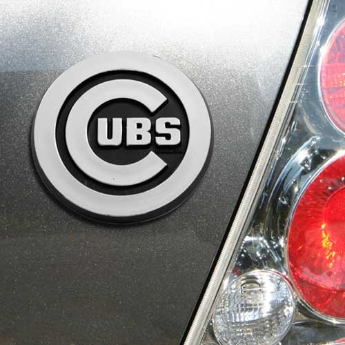 Chicago Cubs Auto Emblem - No Size