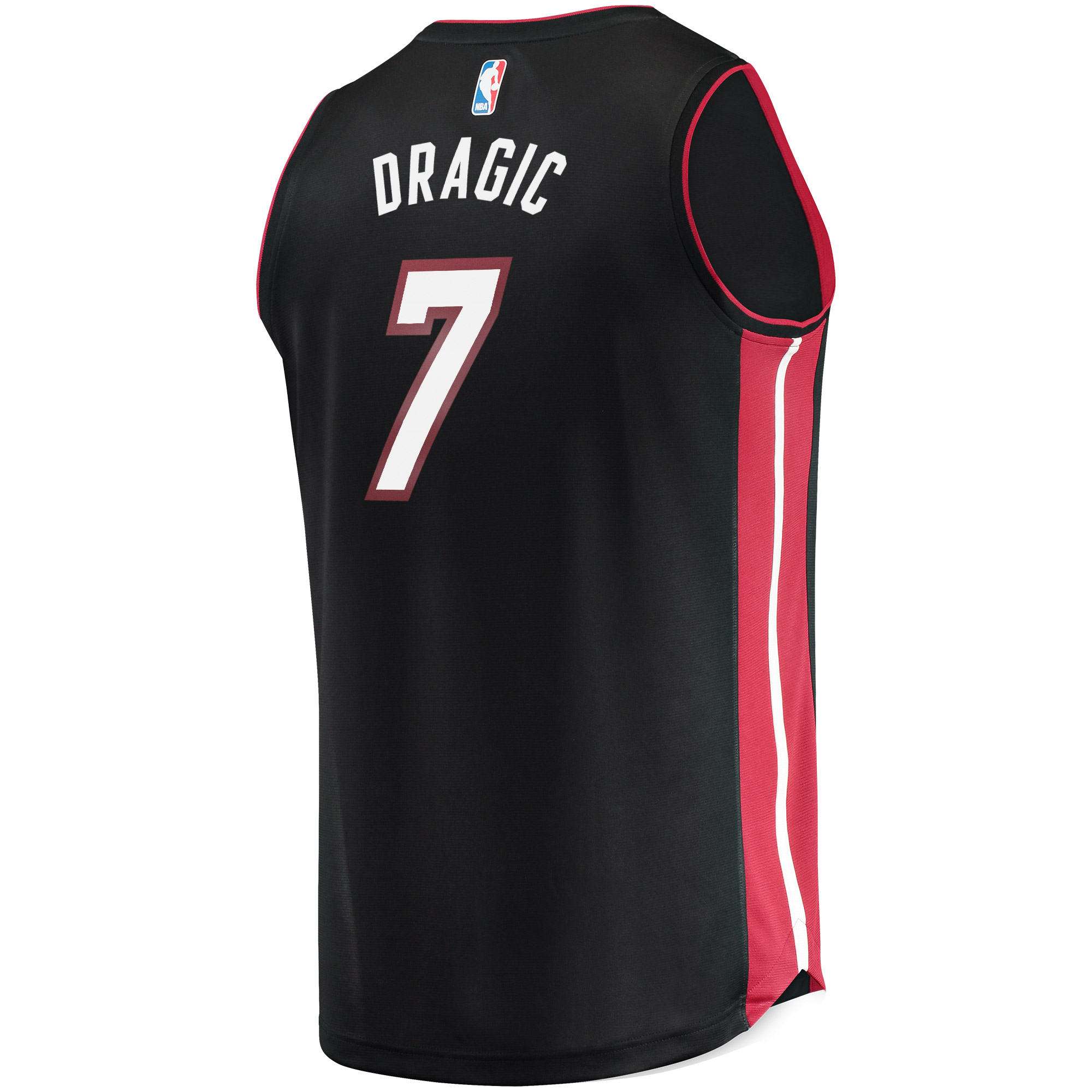 653b90261b4 Goran Dragic Miami Heat Fanatics Branded Fast Break Replica Jersey Black -  Icon Edition - Walmart.com