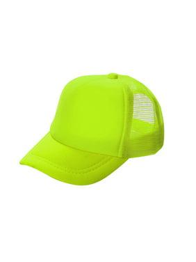 06af5345 Product Image Opromo Blank Neon Foam Poly Mesh Trucker Hat Cap, Adjustable  Snapback Hi Vis Cap-