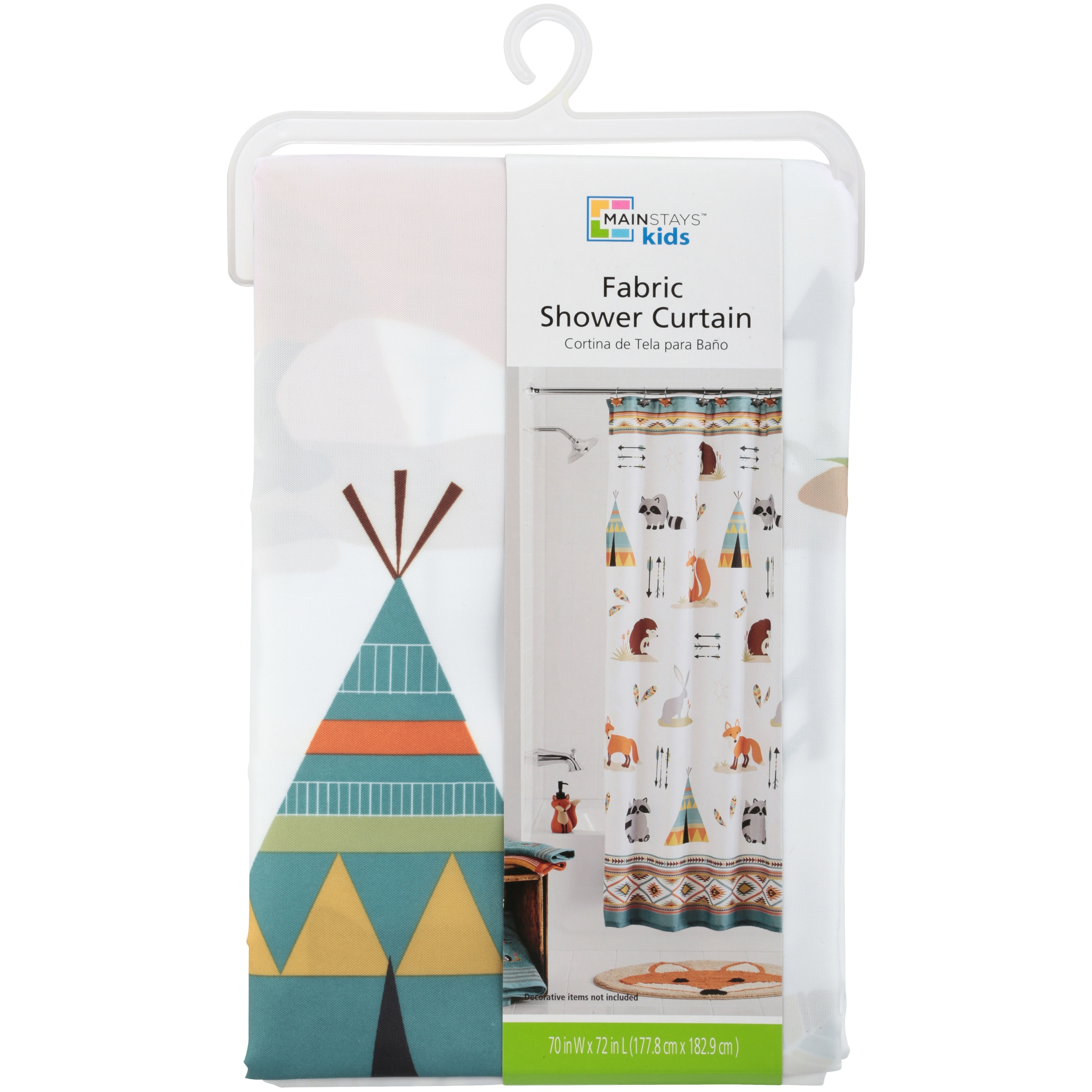Mainstays Kids Woodland Creatures Bath Collection Items