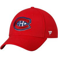 Montreal Canadiens Fanatics Branded Elevated Core Speed Stretch Fit II Flex Hat - Red