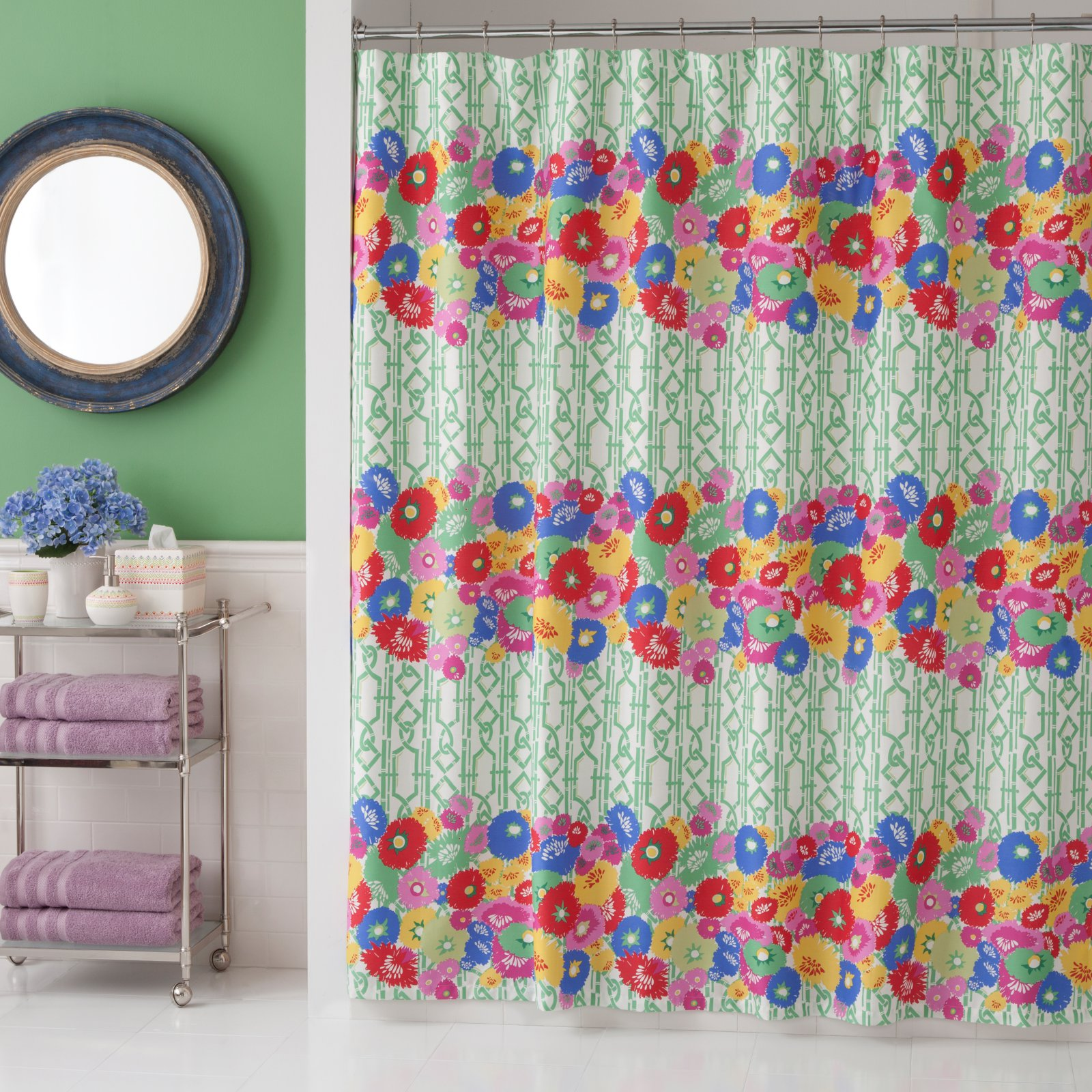Collier Campbell English Bloom Shower Curtain