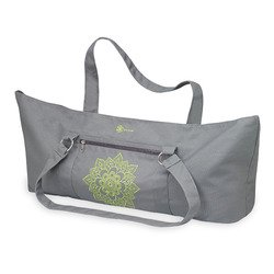 Gaiam Yoga Mat Tote Bag, Citron Sundial (Atafa Yoga Mat Bag)