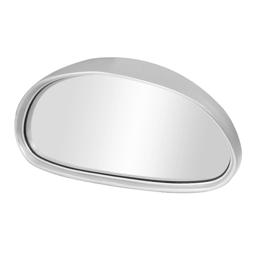 Father' s Day Gift l Unique Bargains Caravan Van Truck Car Auxiliary Rearvire Blind Spot Mirror Silver Tone
