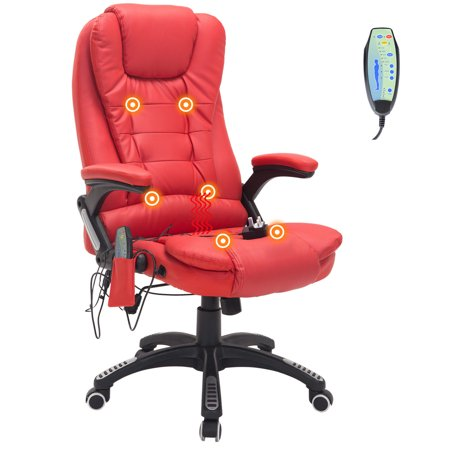 Remarkable Swivel Gaming Massage Chair Ergonomic Pu Leather Executive Creativecarmelina Interior Chair Design Creativecarmelinacom