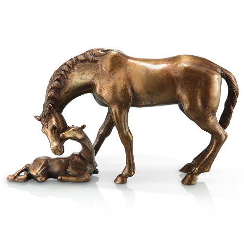 SPI Home Mare and Foal Figurine