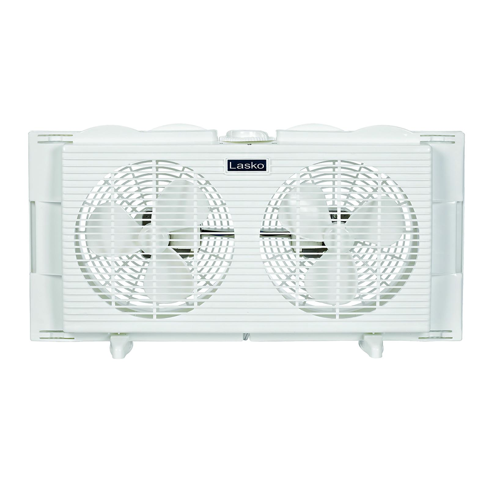 "Lasko Products 7"" Twin Window Fan  2137"