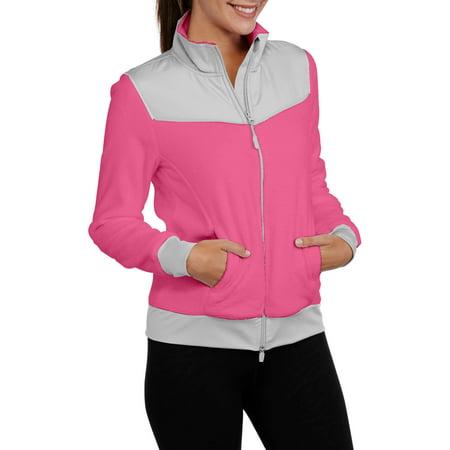 Athletic Works Women's Sport Fleece Jacket - Walmart.com