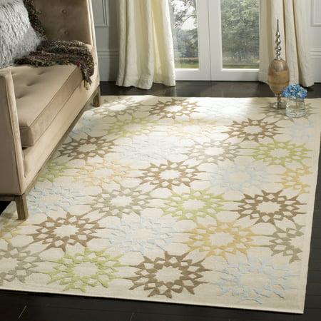 Safavieh Martha Stewart Quilt Pebble Geometric Area Rug ()