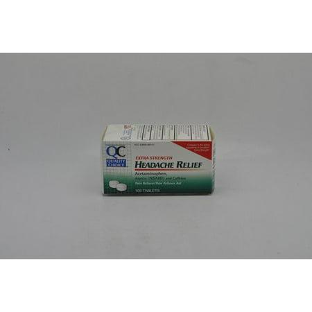 Enuraid 50 Tabs (3 Pack QC Headache Relief Extra Strength 50 Tabs Each )