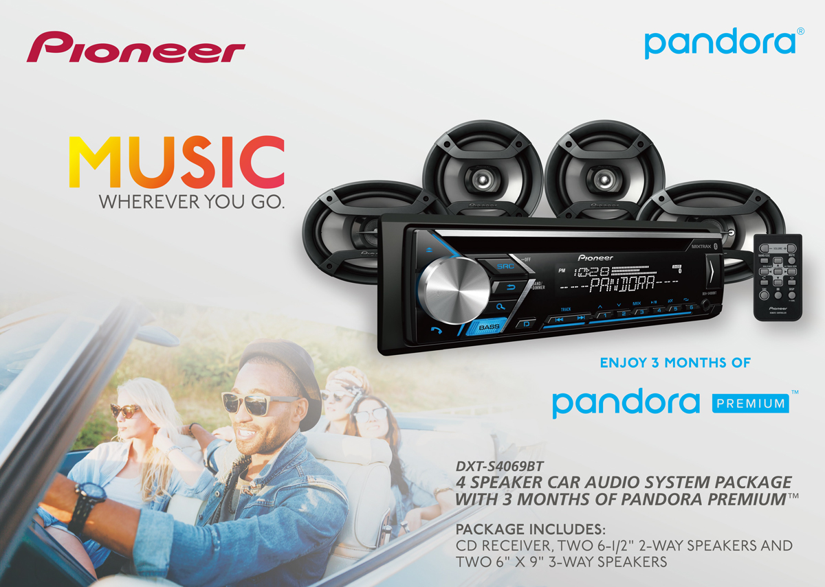 Pandora Pioneer Wiring Harness Diagram Will Be A For 5800 Head Unit 4 Speakers Bundle Walmart Com Rh Color Code 16 Pin