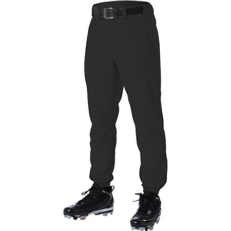 Alleson Youth Classic Style Baseball Pants Black Baseball Stirrup