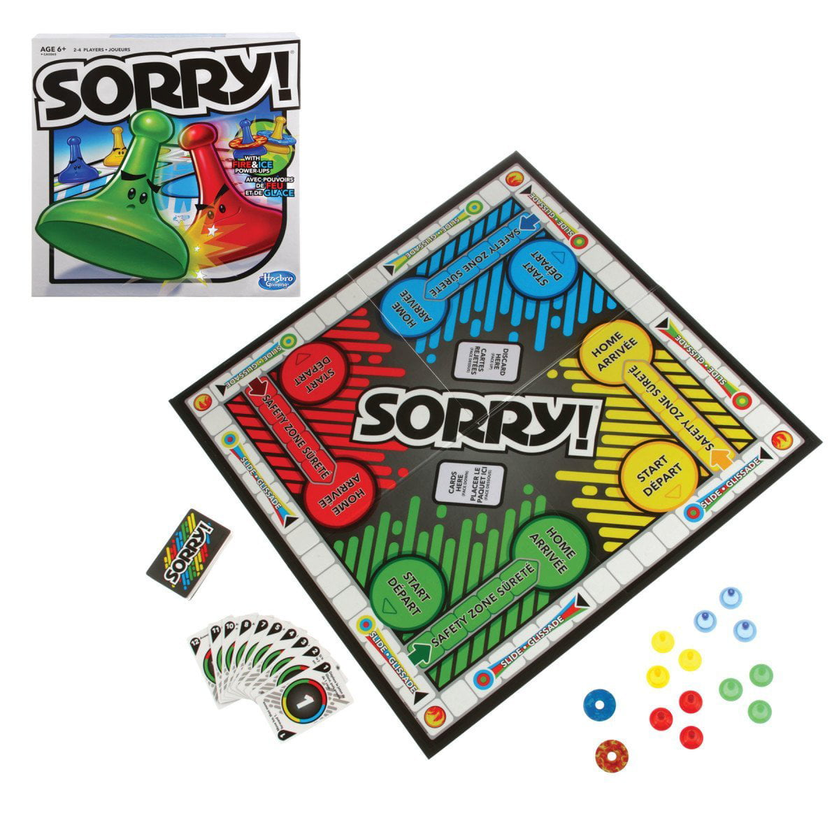 Sorry A5065 Sorry Board Game, Classic Sorry! game is mystery-solving guessing fun By... by
