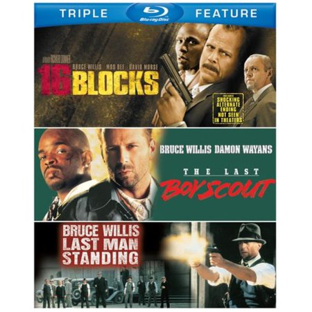16 Blocks / The Last Boy Scout / Last Man Standing (Blu-ray)