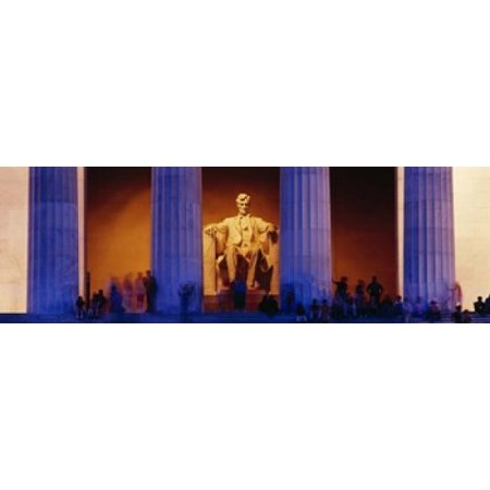 Lincoln Memorial Washington DC District Of Columbia USA Poster Print](District Halloween Lincoln)