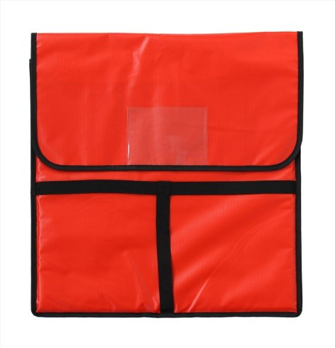 New Star 50097 Insulated Pizza Delivery Bag, 20 by 20 by 5-Inch, Red by