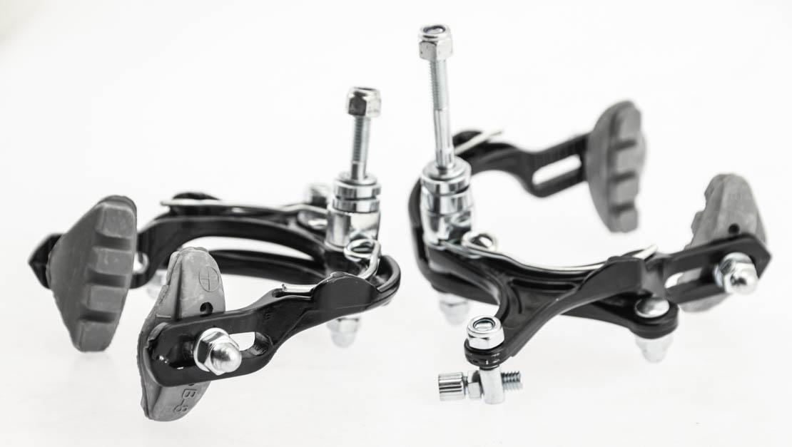 BMX Bike Brakeset Black F R NEW Power Brake Side Pull Caliper Road