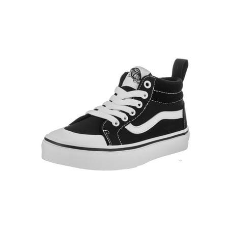 596ae39098ed Vans Kids Racer Mid (Canvas) Skate Shoe - Walmart.com