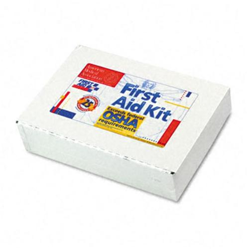 First Aid 224U First Aid Kit for 25 People  106 Pieces  OSHA Compliant  Metal Case