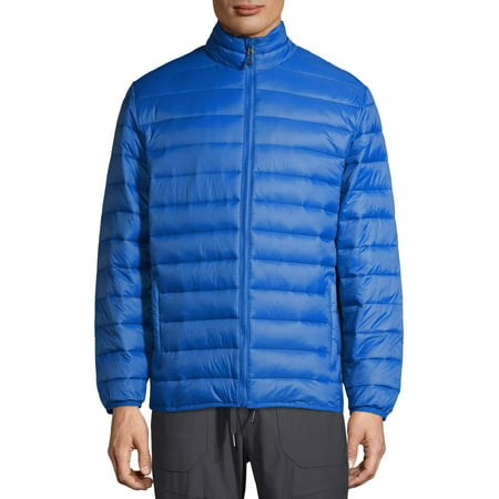 SwissTech Men's and Big Men's Puffer Jacket, Up to Size 5XL