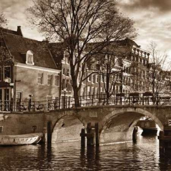 Autumn in Amsterdam II Poster Print by Jeff Maihara
