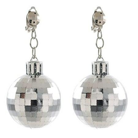 amscan Disco Ball Earrings
