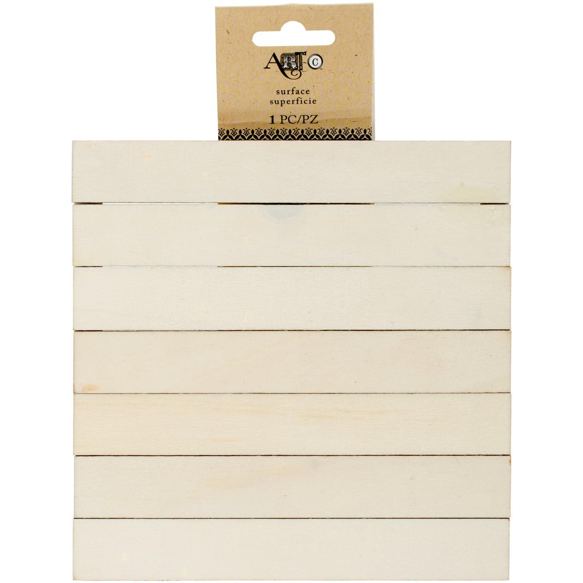 Beige Momenta 26395 Art-C Mini Wood Solid Pallet 6 x 6