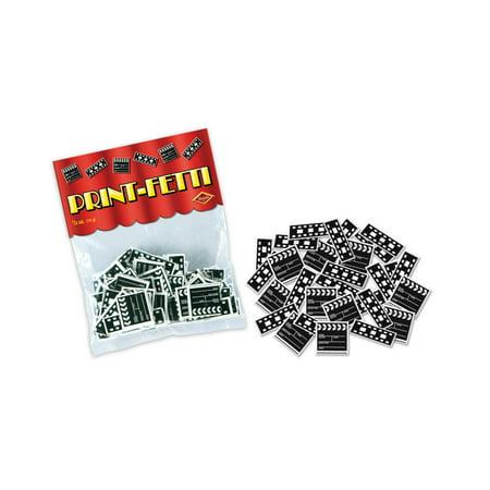 Fanci-Fetti Film Strip And Clapboard Confetti Celebration Party Decoration](Film Strip Decorations)