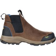 georgia gb00106 mid calf boot, dark brown, 8 m us