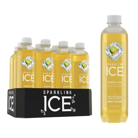 Sparkling Ice, Ginger Lime, 17 Fl Oz, 12 Count