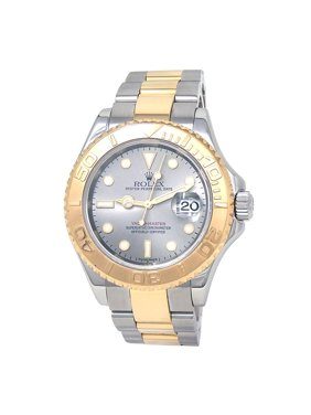Pre-Owned Rolex Yacht-master 16623 Two Tone 40mm  Watch (Certified Authentic & Warranty)