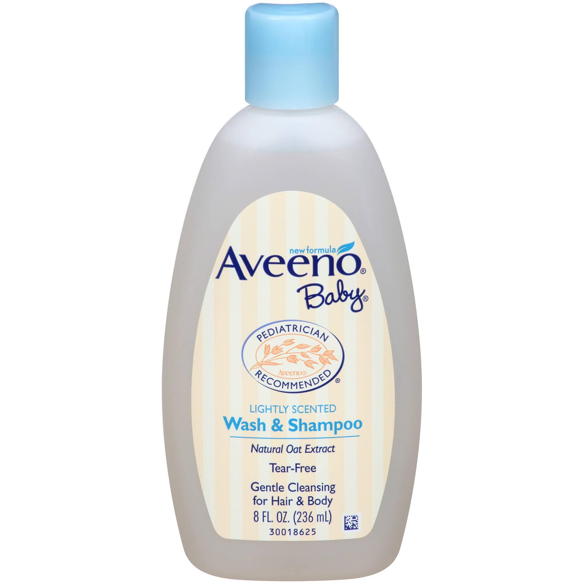 Aveeno Baby Wash & Shampoo, 8 Oz