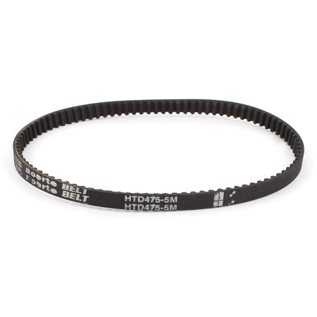 Unique Bargains HTD475-5M 10.5mm Width 5mm Pitch 95T Timing Belt for CNC Machines Stepper (Best Cnc Machines For Home Use)