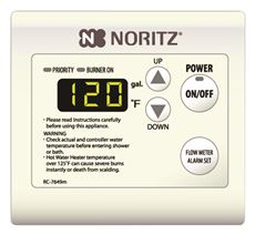 Noritz Tankless Water Heater Remote Control