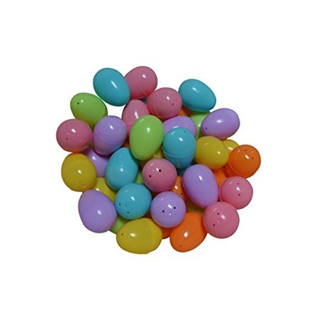Plastic Easter Eggs - 100 Count (pastel) - Pastel Easter Eggs