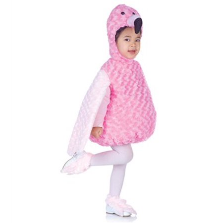 Pink Flamingo Toddler Costume (Flamenco Girl Costume)