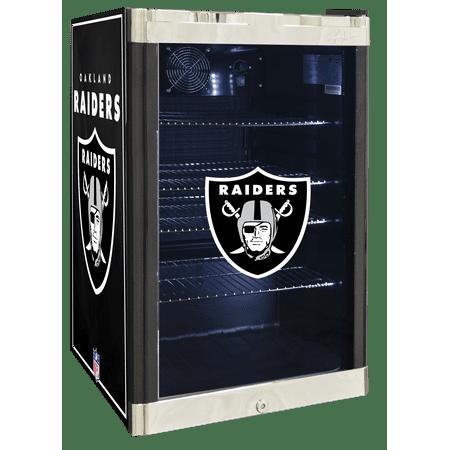 Nfl Refrigerated Beverage Center 4 6 Cu Ft  Oakland Raiders