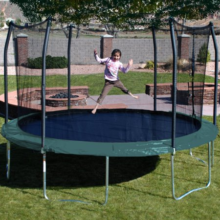 Skywalker Trampolines 15 Ft Round Trampoline With Safety