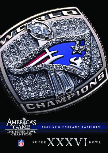 NFL America's Game: New England Patriots Super Bowl XXXVI (DVD) by CINEDIGM