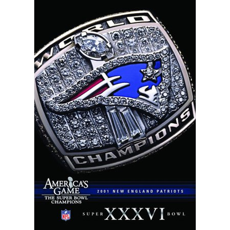 NFL America's Game: New England Patriots Super Bowl XXXVI (DVD) (Super Bowl Crafts)