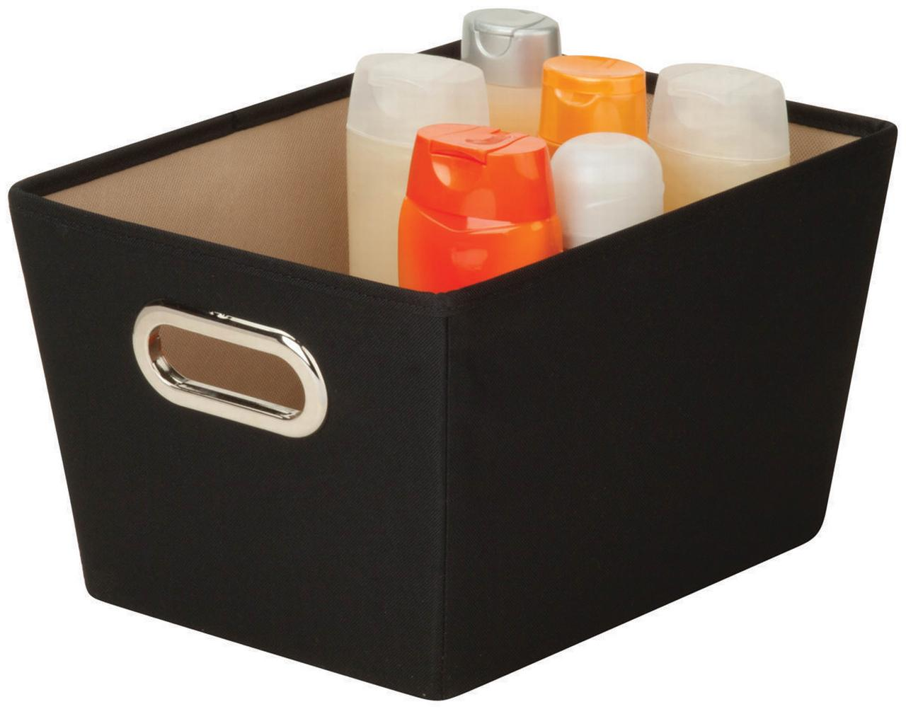 Honey Can Do Large Decorative Storage Bin with Handles, Multicolor by Honey Can Do