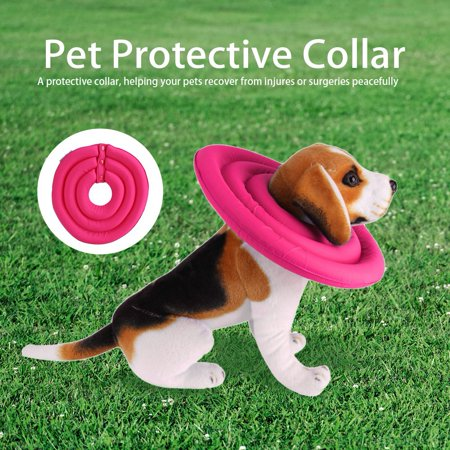 Healing Collar,HURRISE 3Sizes Pet Protective Collar Elizabethan Cone Collars for Dog Cat Healing Recovery