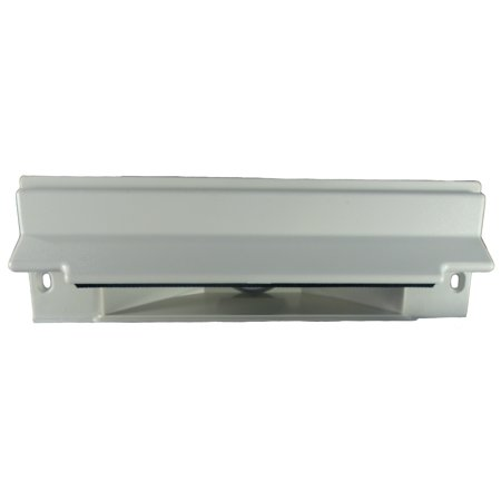 Central Vacuum Exhaust (Central Vacuum Sweep Inlet Valve. CanSweep Dustpan Inlet Valve (White) for under counter and baseboard installation for central vacuum systems )