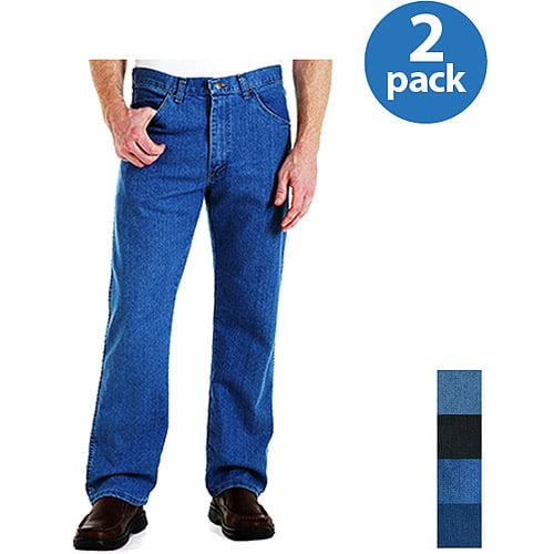 Wrangler - Men's Stretch Jeans, 2 Pairs