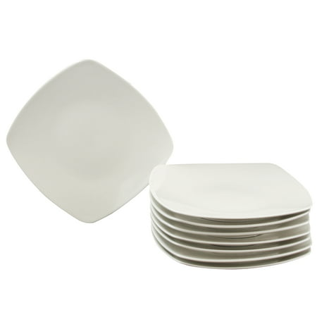 Gibson Zen Buffetware 8 Piece Salad Plate Set