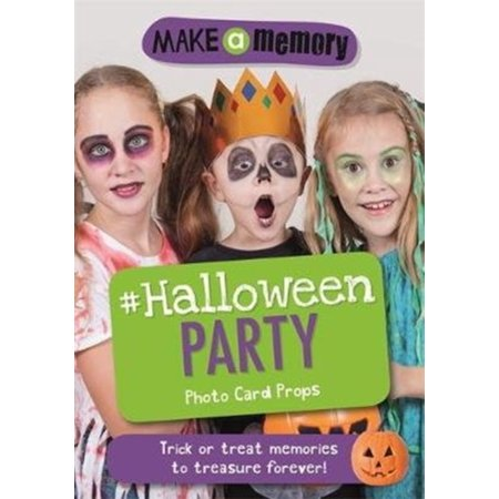 MAKE A MEMORY HALLOWEEN PARTY PHOTO CARD
