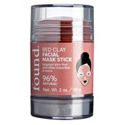 FOUND Red Clay Facial Mask Stick, 2 oz