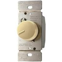 Cooper Wiring 0092668 React Adjustable Fully Variable Non-Preset Rotary Control Switch, 120 Vac, 5A - 300W
